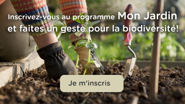 Inscrivez-vous au programme Mon Jardin et faites un geste pour la biodiversité